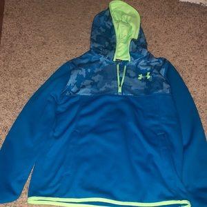 Boys half zip hoodie
